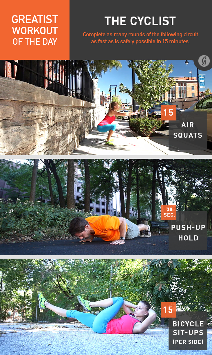 Forum on this topic: Greatist Workout of the Day: Thursday, October , greatist-workout-of-the-day-thursday-october/