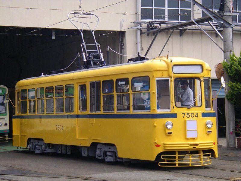 Tokyo City tram