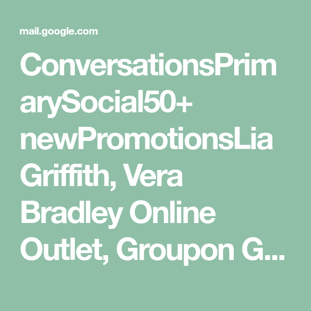 Conversationsprimarysocial50 Newpromotionslia Griffith Vera