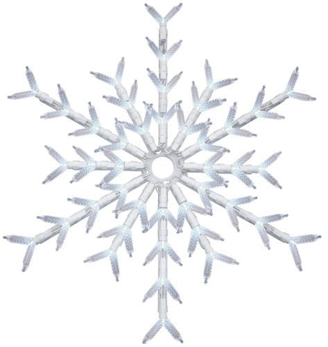 "Rope Lights Menards Beauteous 18"" 3D Led White Snowflake At Menards  Christmas Ideas  Pinterest Inspiration"