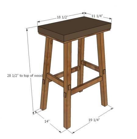 No Sew Cayden Nailhead Bar Height Stool Diy Bar Stools Diy