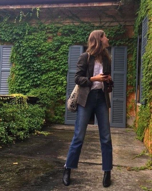 """Day_after_day on Instagram: """"#fashion #fashionblogger #fashionblog #pretty #french #frenchstyle #boots #jeans #outfit #girl #inspiration #outfitoftheday #clothes…"""""""