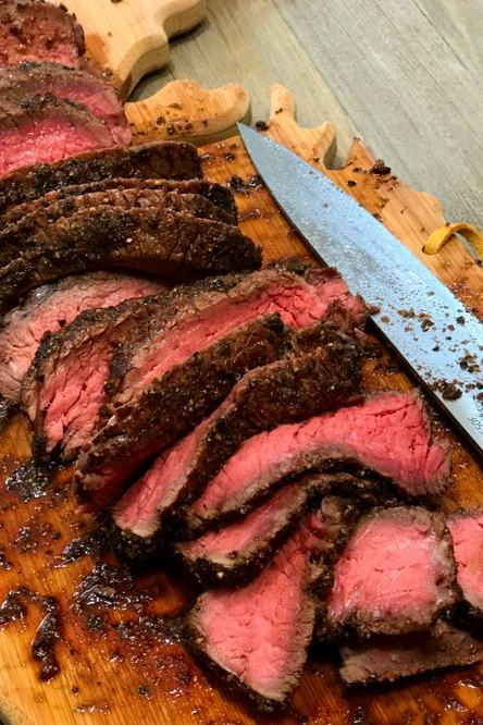 Seared And Smoked Top Sirloin Steaks Recipe Smoked