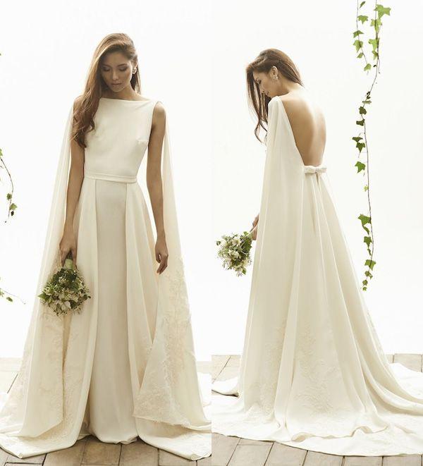 25 Sleek Wedding Dresses That Make A Modern Statement And Oozes Runway Chic