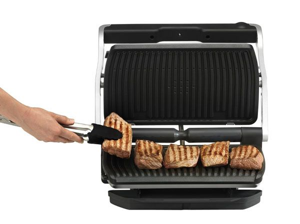 T-fal GC722D53 OptiGrill Large Indoor Electric Grill | Top Kitchen ...