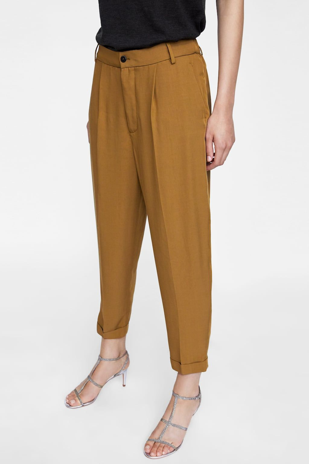 968e58b1 Image 2 of ELASTIC WAIST TROUSERS from Zara | zafari in 2019 ...