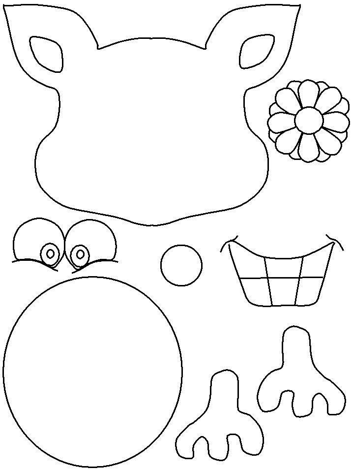 Reindeer Scrapbooking Templates Pinterest Craft - halloween template