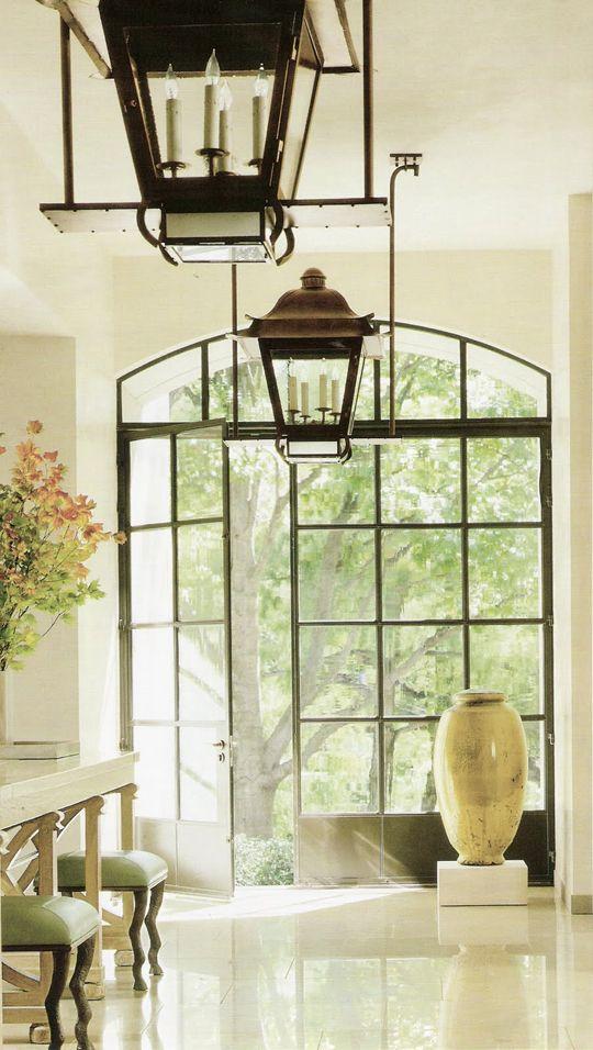 Steel Frame Windows - Neutral Foyer | windows | Pinterest | Deco ...