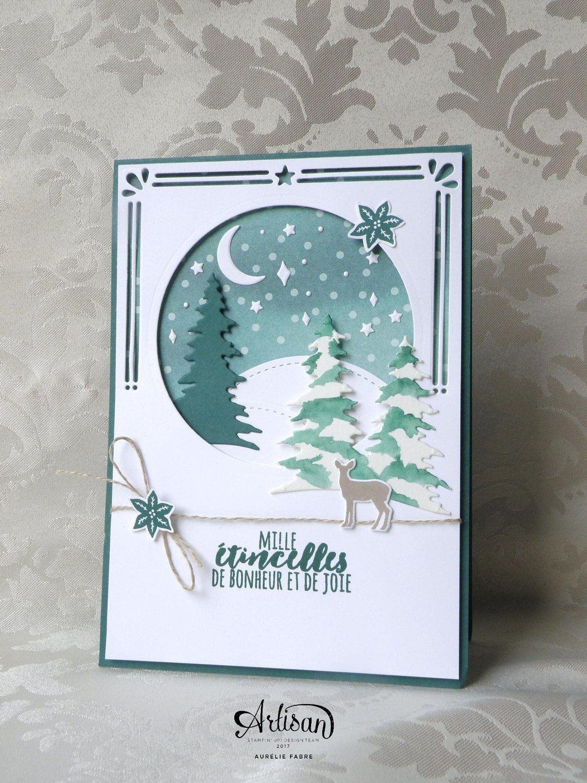 Extra Blog Hop ! Cantiques de Noël !   | Carte noel, Carte de