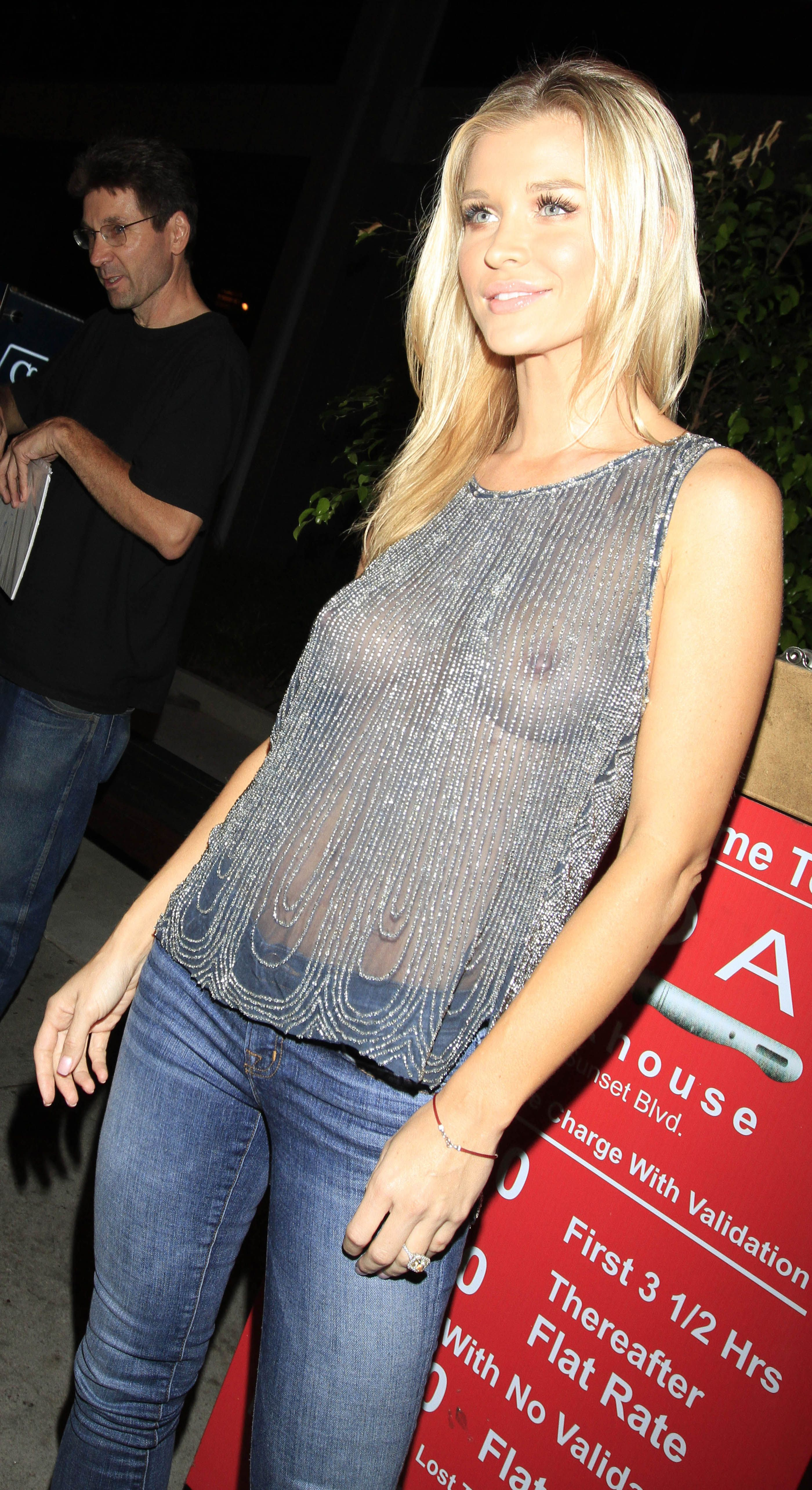 Joanna krupa see through dress to impress new pictures