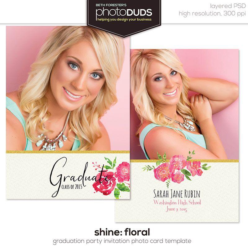 Shine, Senior Card Set | Photography business, Photographers and ...