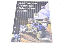 New Oem Yamaha Raptor 250 Technical Orientation Guide Nos In Ebay Motors Parts Amp Accessories Manuals Amp Literature Moto Yamaha Atv Yamaha Polaris Atv