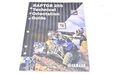 New oem yamaha raptor 250 technical orientation guide nos in ebay new oem yamaha raptor 250 technical orientation guide nos sciox Gallery