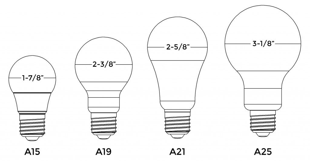 A19 Standard A15 Led Residential Lighting Different Light