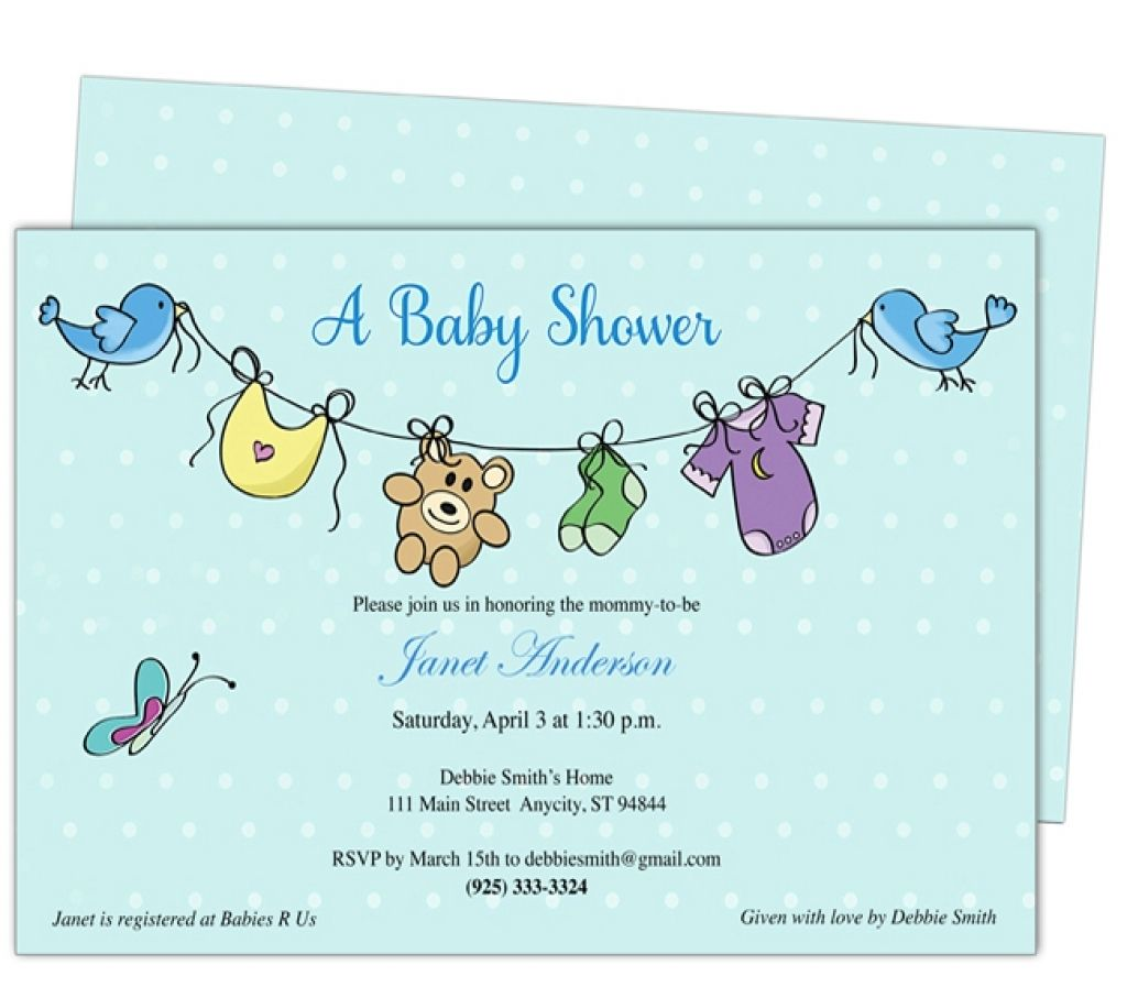 Office Baby Shower Email Invitation  HttpAtwebryInfo