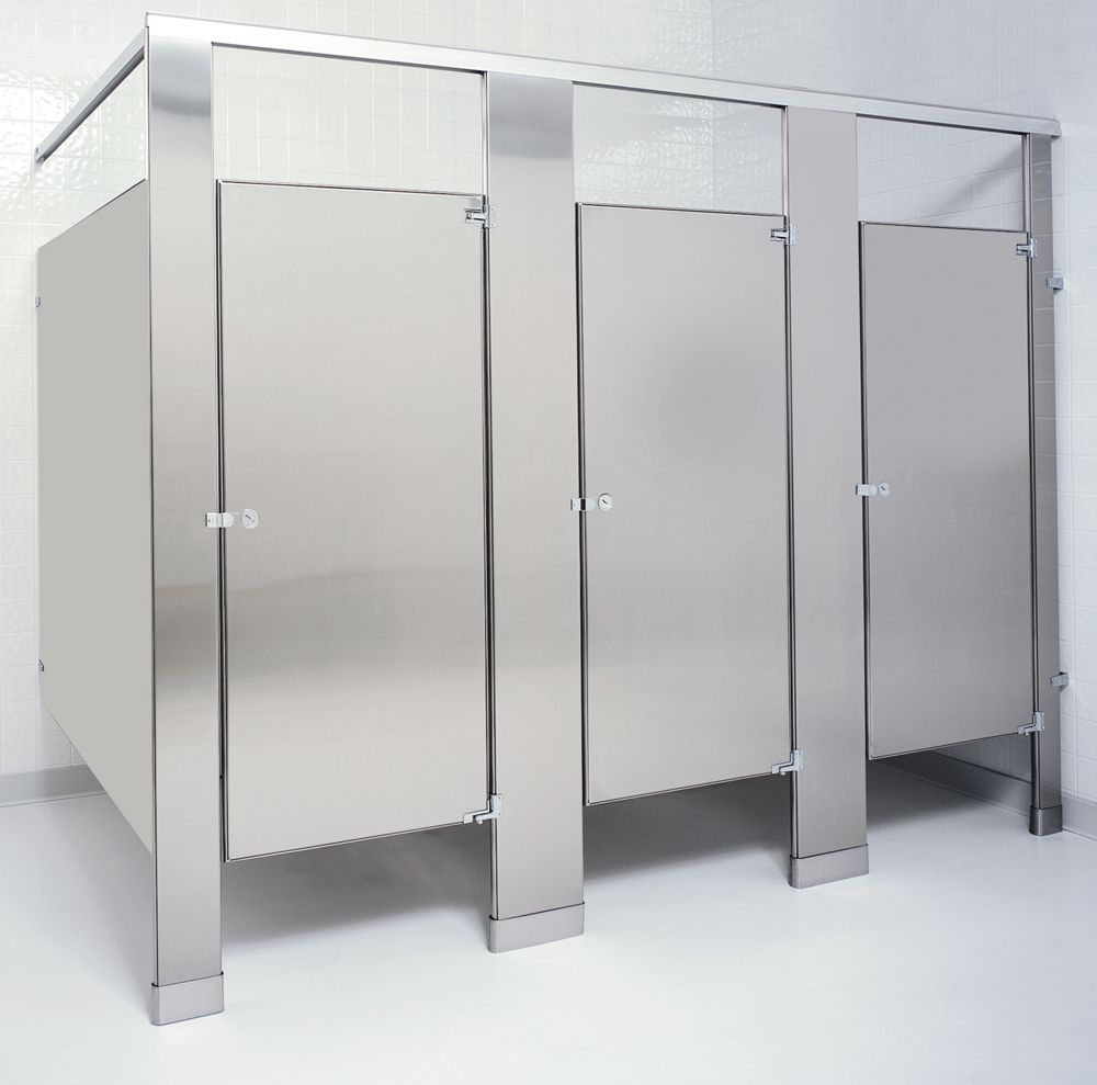 Custom Designed Stainless Steel Toilet Partitions Are Virtually Indestructible And Retain Their
