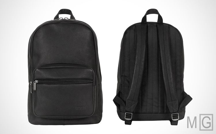 7418cd587 Kenneth Cole Reaction 'Ahead of the Pack' Leather Backpack | This Kenneth  Cole backpack