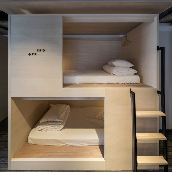 Virtual Dorm Room Design: The Lodgings Build On Japan's Renowned Capsule Hotel