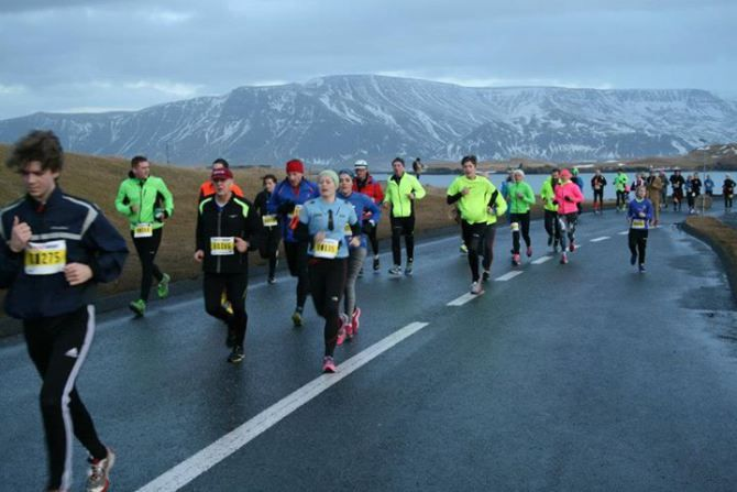 New Year's Eve Run in Iceland