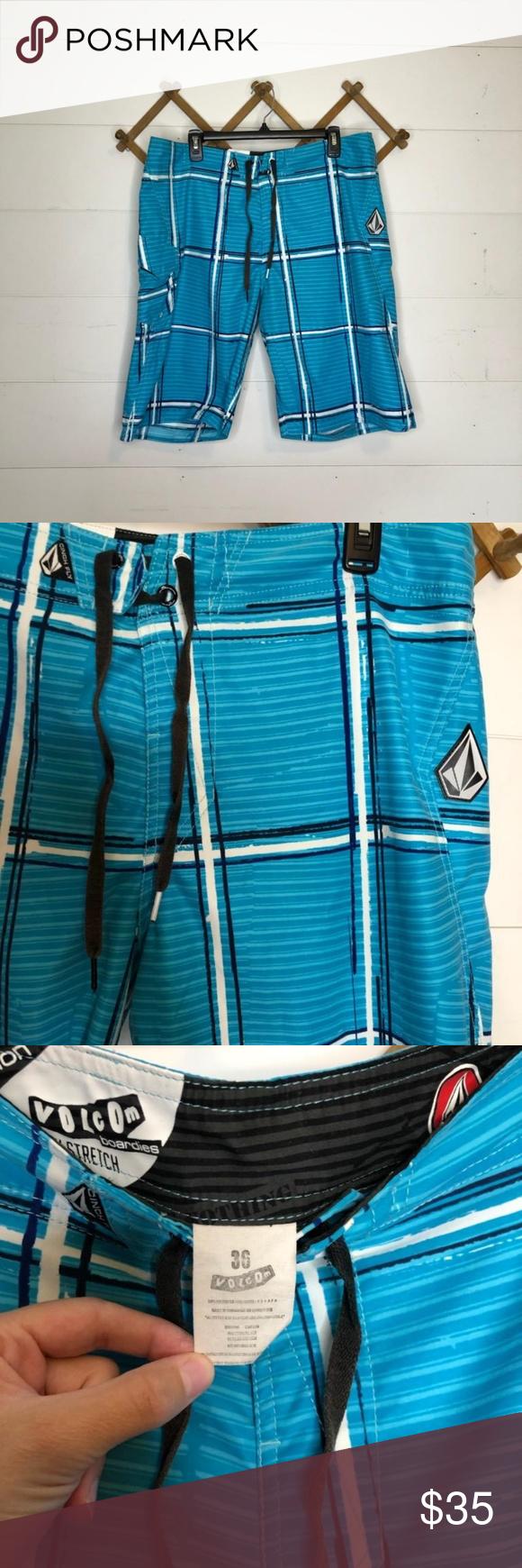 Volcom bathing suit Size 36 waist men's bathing suit Volcom Swim Swim Trunks #mensbathingsuits