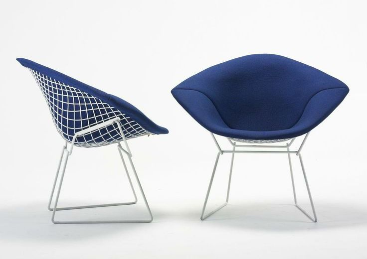 Bertoia Diamond Chair Knoll Harry Bertoia 1952 Draadsculptuur