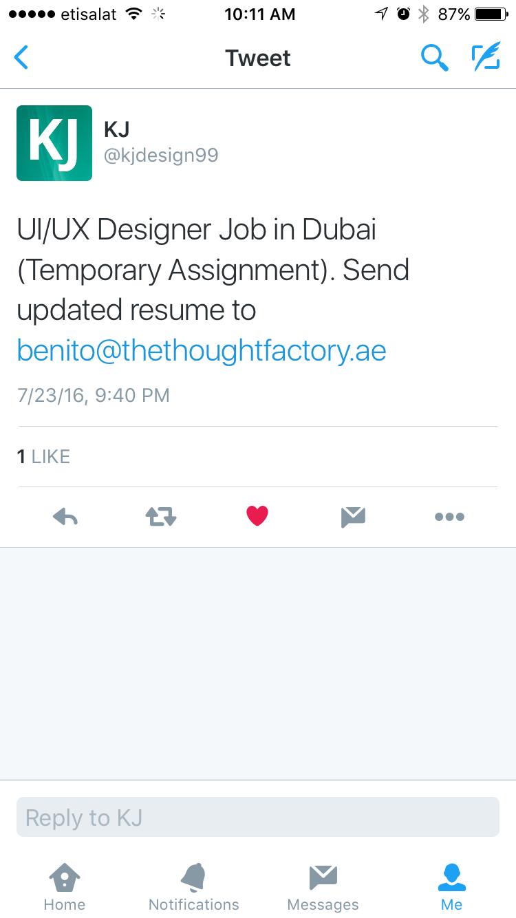 Ui Ux Designer Job In Dubai  Months Contract  Jobs