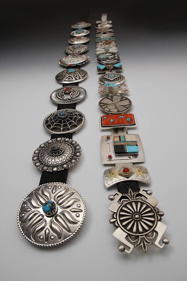 beautiful concho belts