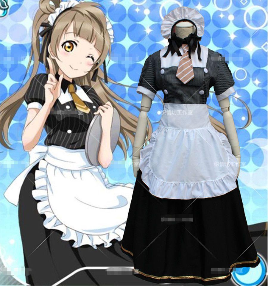 Click to Buy u003cu003c Kotori Minami Maid Dress Anime Love Live Cosplay Costume & Click to Buy u003cu003c Kotori Minami Maid Dress Anime Love Live Cosplay ...