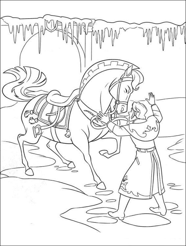 Free Printable Frozen Coloring Pages For Kids | frozen | Pinterest