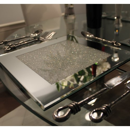 Canora Grey Indie Placemat Mirror Placemats Placemat Sets