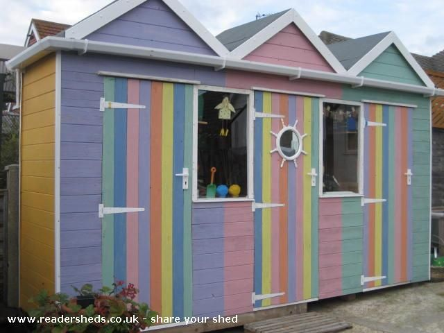 Beach Huts Is An Entrant For Shed Of The Year 2013 Via @readersheds