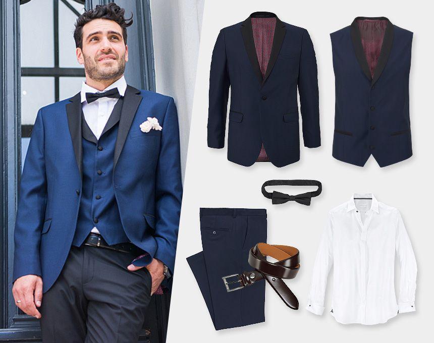 newest 67a49 913d0 Ein stylischer Hochzeitsanzug von Guido Maria Kretschmer ...