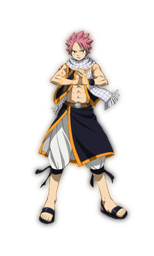 Natsu Dragneel (Fairy Tail) Minecraft Skin | Anime | Pinterest