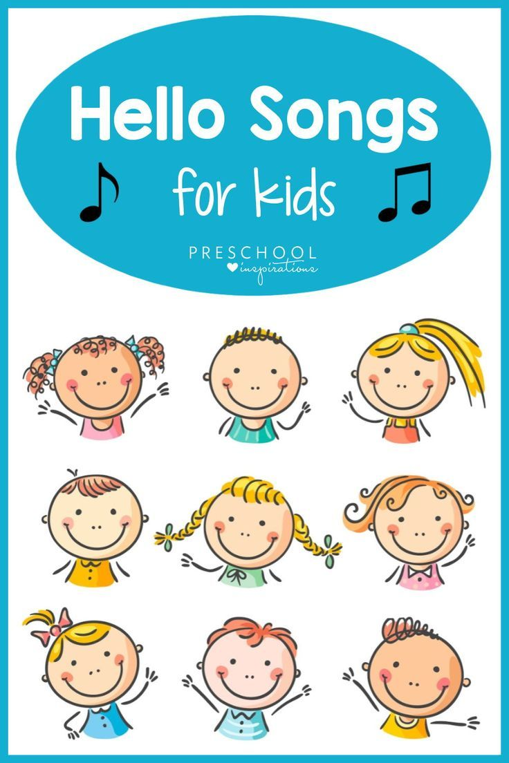 Songs are magical tools in a preschool or kindergarten classroom! Use these songs that say