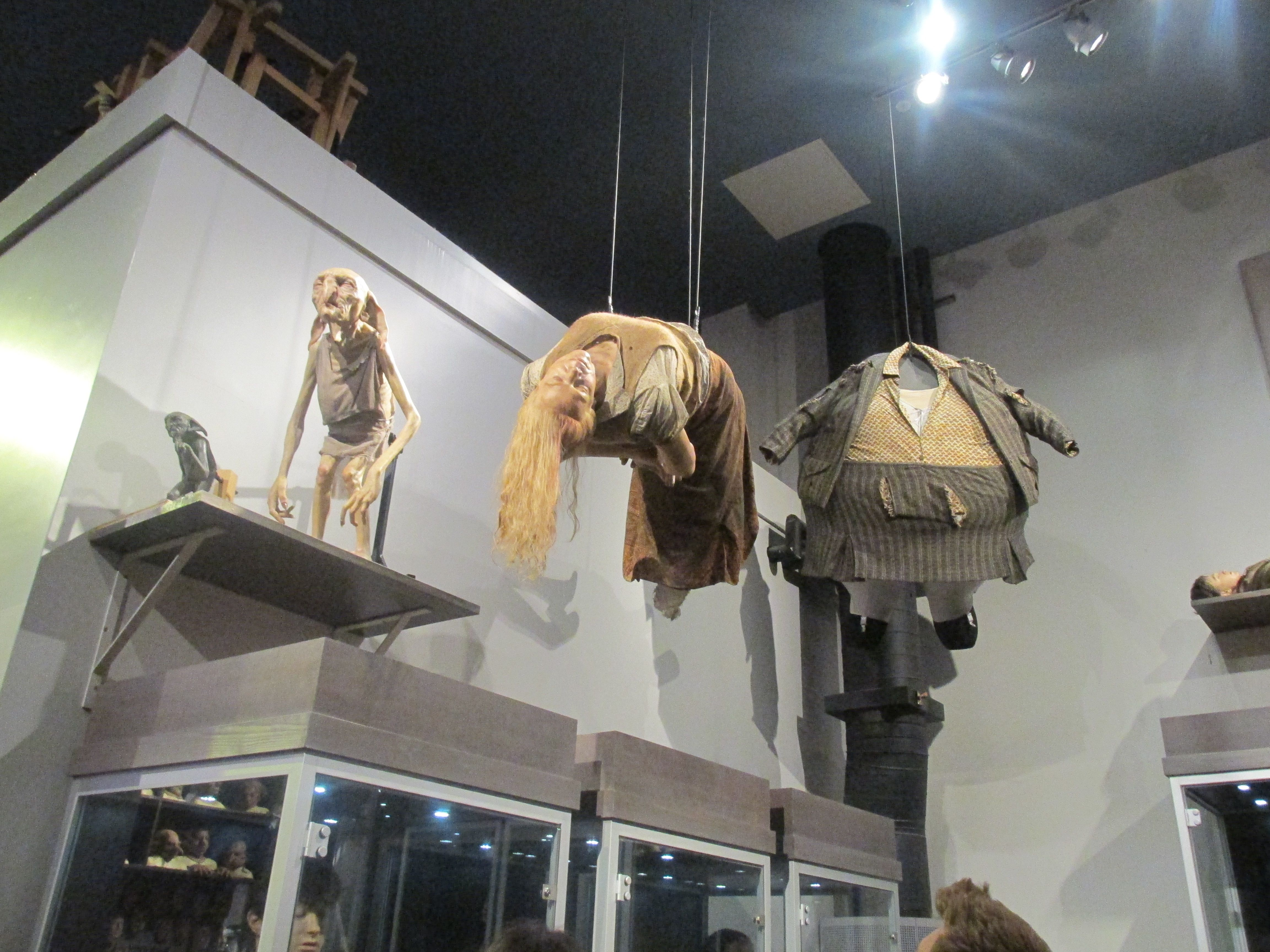 Kreacher Left Charity Burbage Centre And Aunt Marge S Blown Up Suit Right Photographed By Annie Gibson Warner Bros Studio Tour Studio Tour Light