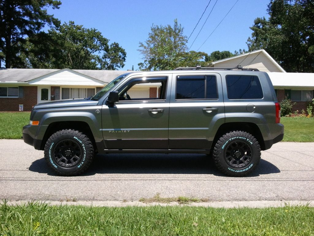 Jeep Patriot Forums View Single Post Ok Who S A Member Of The Lifted Mk Club Jeep Patriot Lifted Jeep Jeep Patriot Lifted