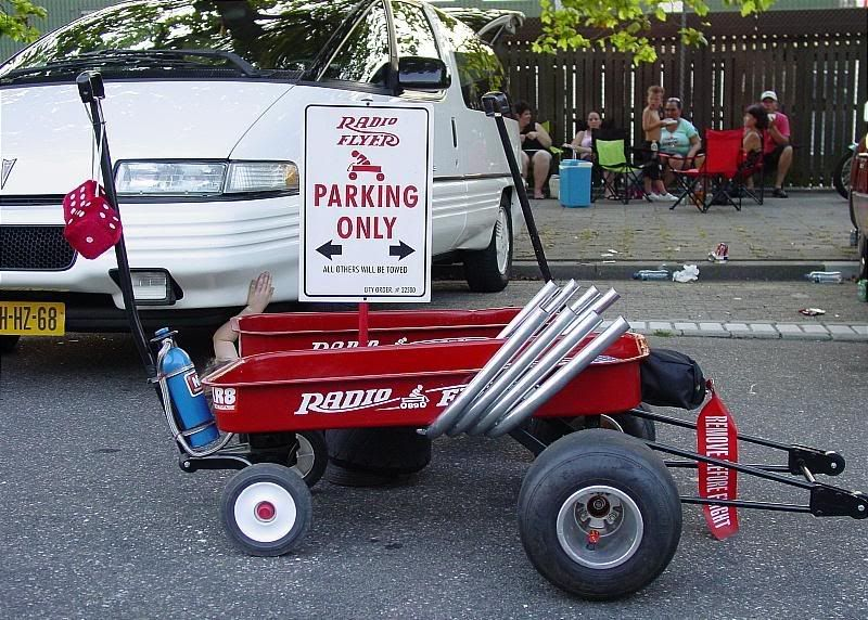 Custom Kids Wagon Am The Onley One In The Netherlands