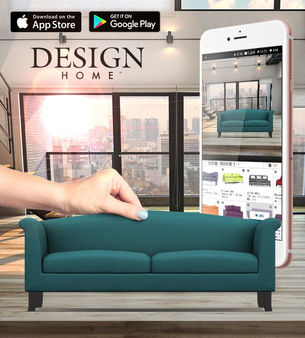 Love Home Decorating Play Design Home If You Daydream About Designing Beautiful Unique Interiors For Your Man House Design Design Home App App Store Design