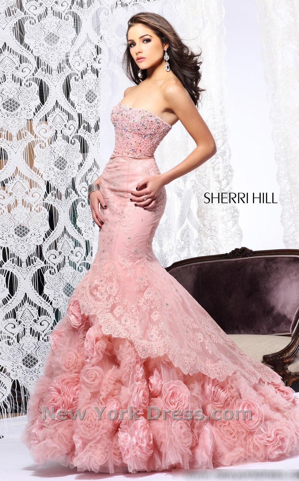 Excepcional Prom Red Hill Vestido De Sherri Patrón - Colección de ...