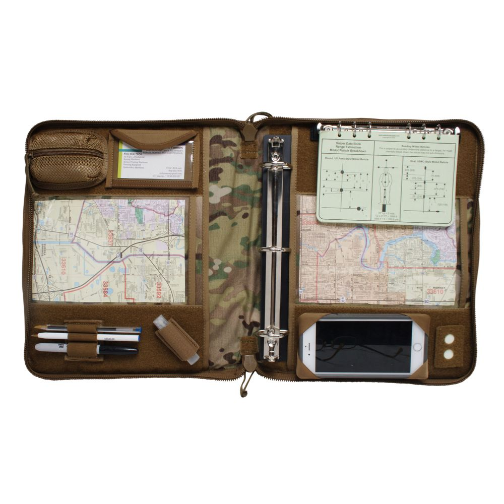 Tactical 3-Ring Cover System (Fits ½-1in Binders)