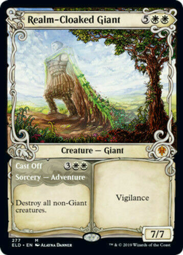 Throne of Eldraine Showcase Complete Rare Set Magic the Gathering MTG 5