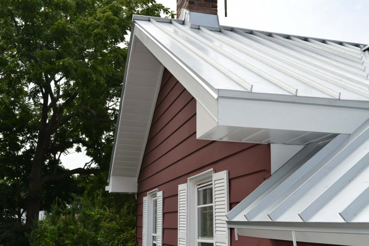 Light Color Standing Seam For Energy Efficiency Standing Seam Metal Roof Metal Roof Cost Standing Seam