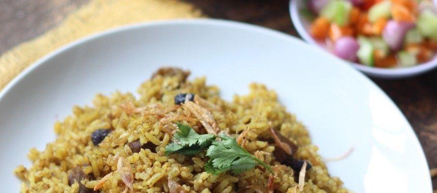 Nasi Kebuli Kambing Dan Praktis Khas Arab Resep Resepkoki Resep Resep Nasi Kambing