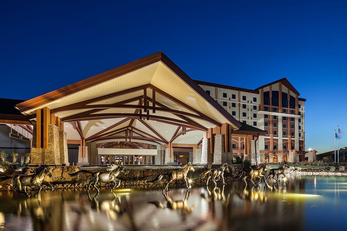 Choctaw Casino Pocola designed by WORTHGROUP