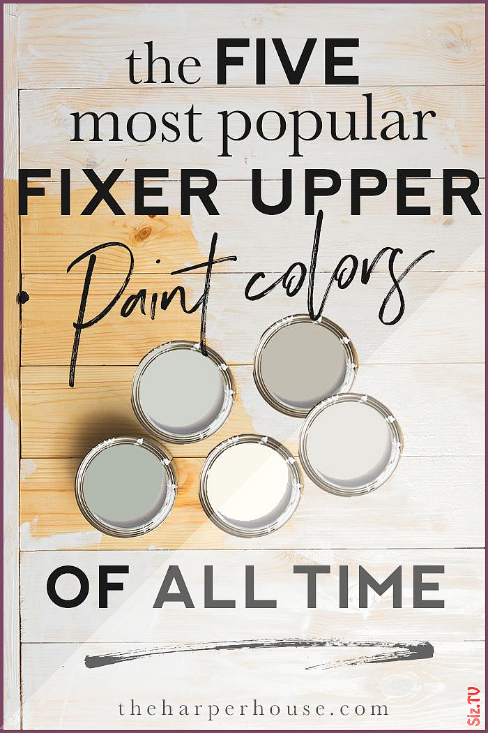 Fixer Upper Paint Colors The Most Popular of ALL TIME Fixer Upper Paint Colors The Most Popular of ALL TIME Darien Petit gladridge Color crazy the most popular Fixer nbsp...