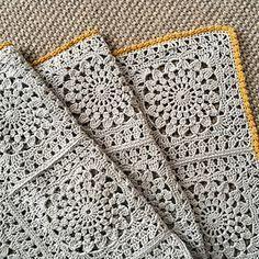 laracreative's Guest room crochet blanket