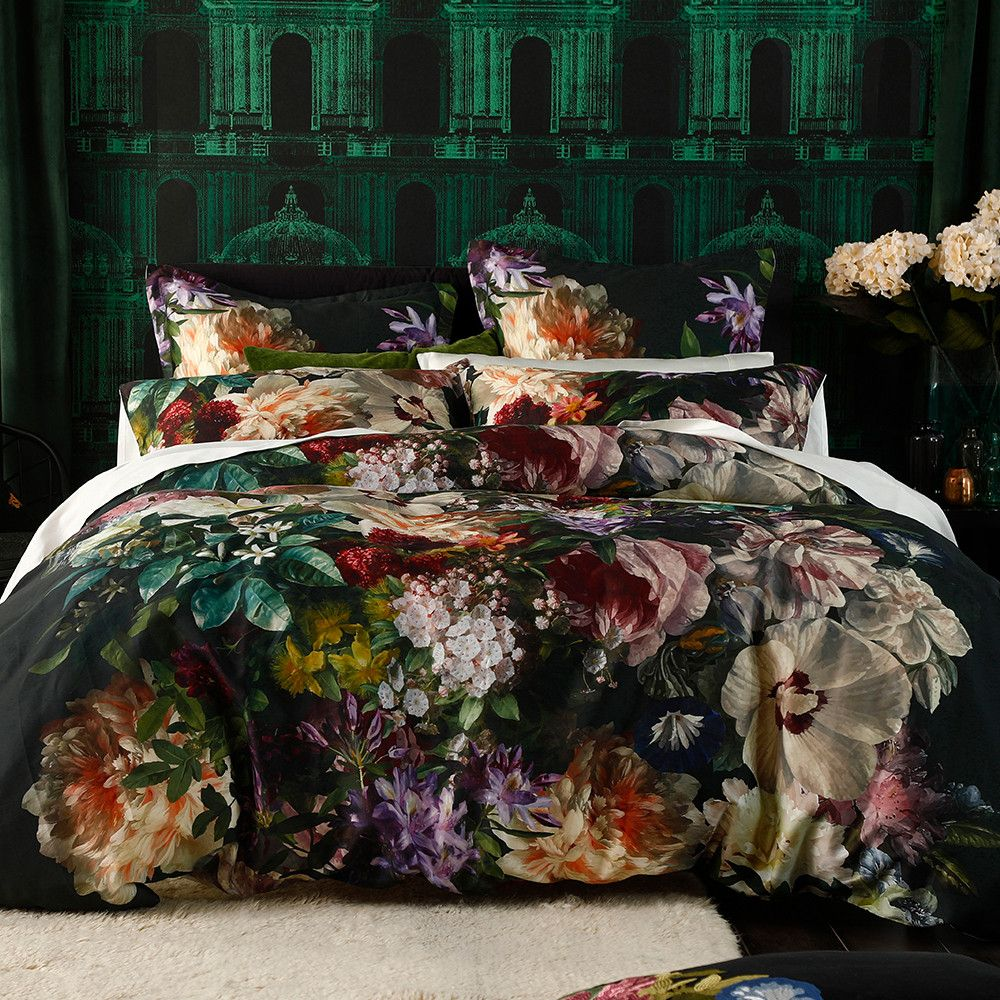 Superking 100/% Percale 180 count Heart of House Discovery Jacquard Bedding Set