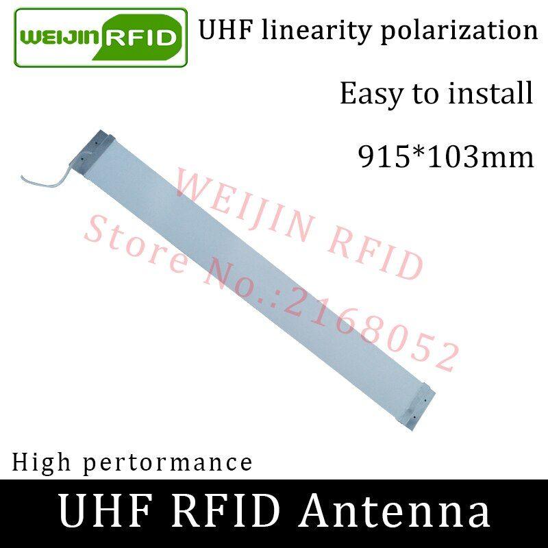 UHF RFID Strip thin antenna Vikitek 915MHZ middle range 920