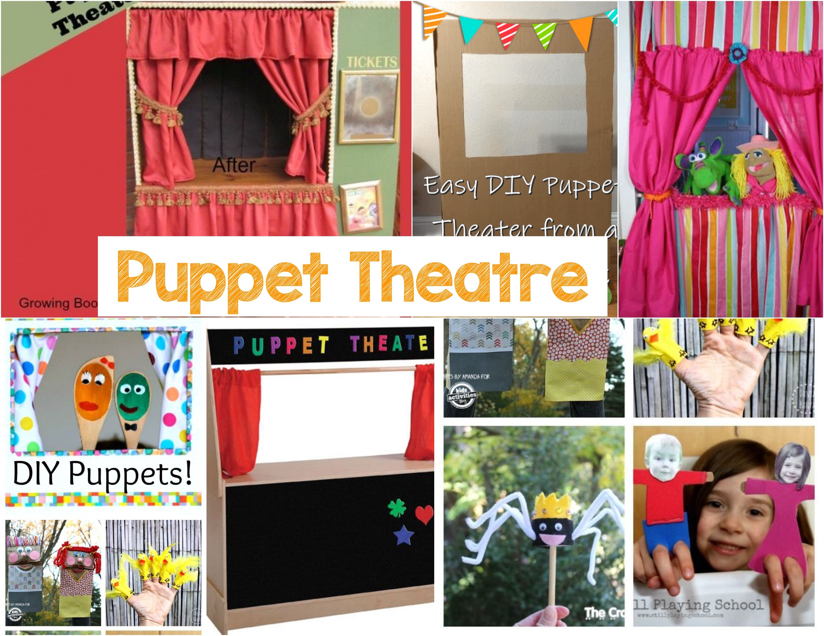 Puppet Theatre Dramatic Play In