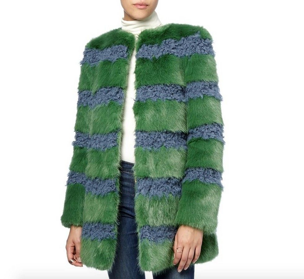 21 Crazy-Colorful Faux Fur Jackets Your Closet Needs This Season